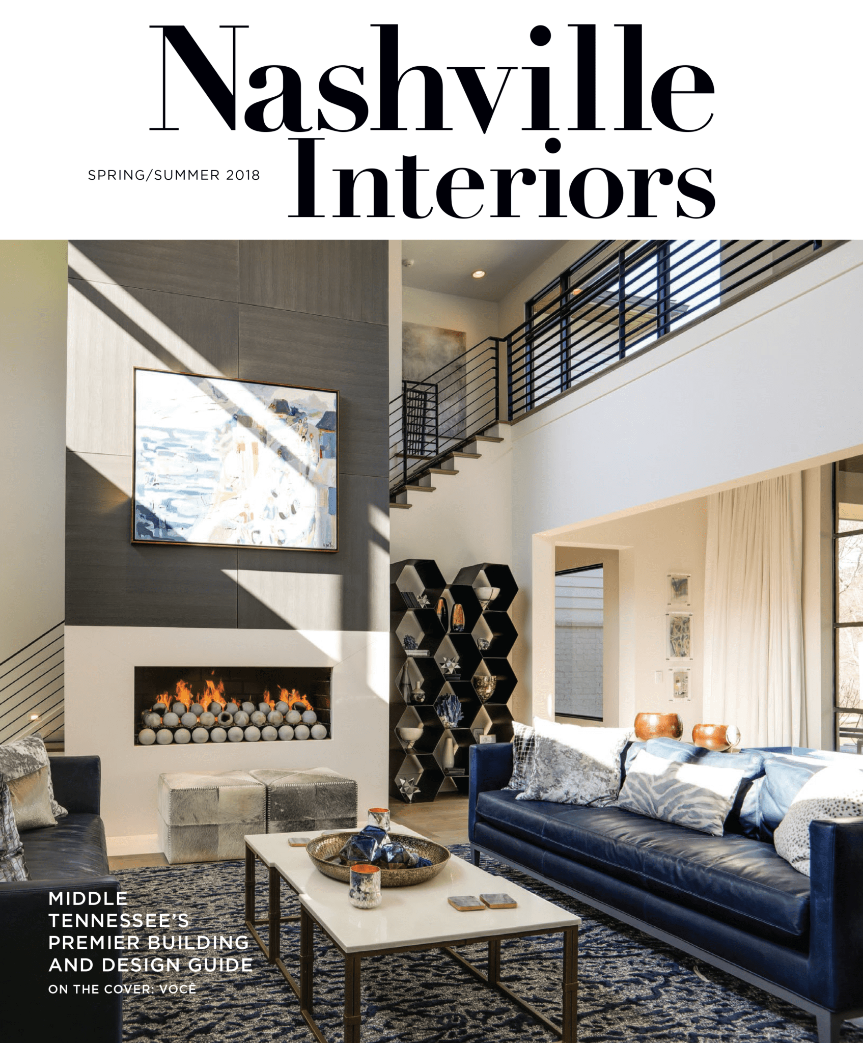 Nashville Interiors Spring/Summer of 2018 Cover